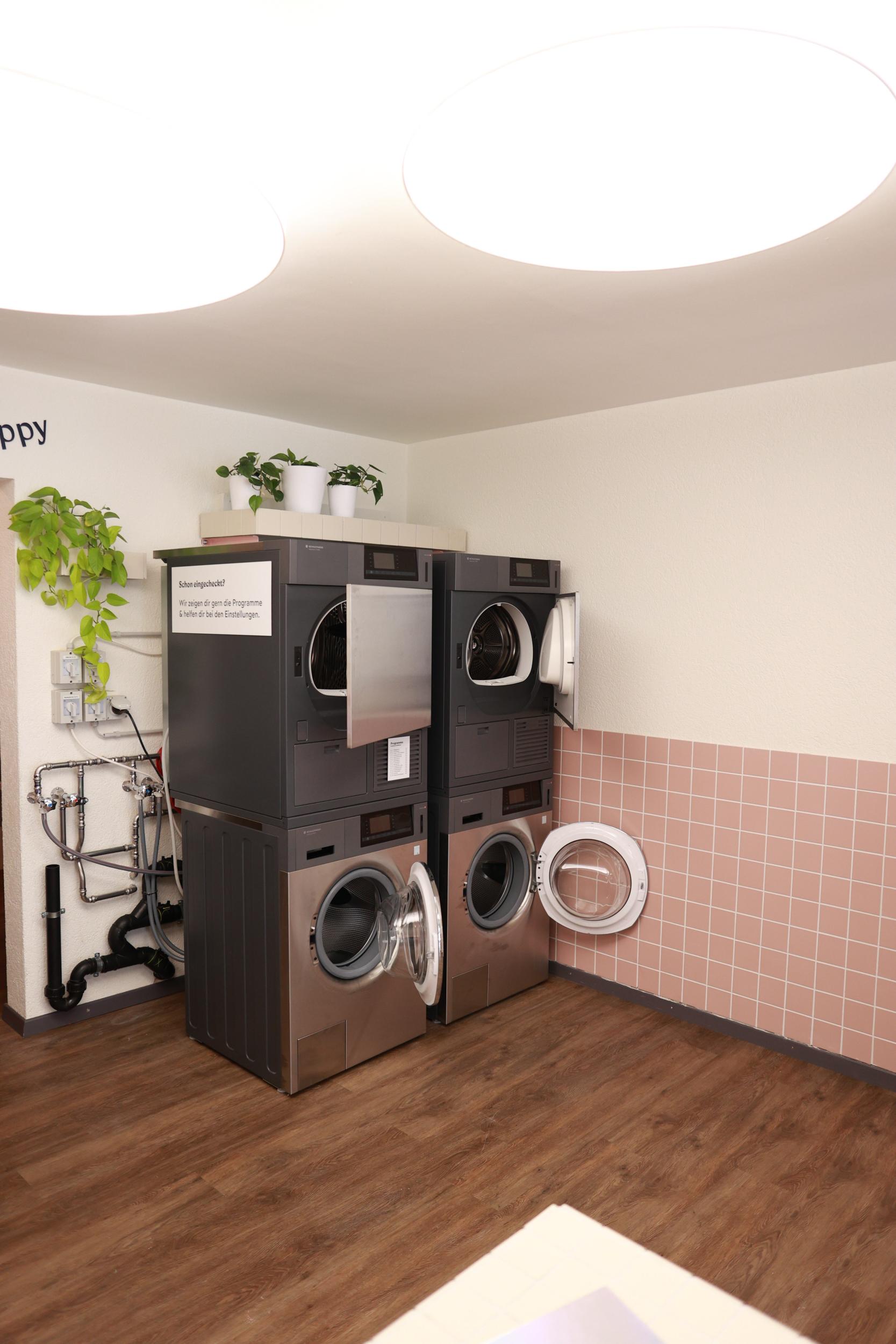 Waschsalon Umbau